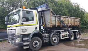 20 Cubic Yard Big Hook Skip Containers Stoke on Trent and   Newcastle under Lyme