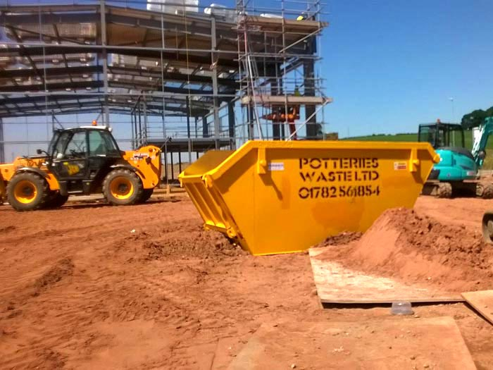 Skip Hire Stoke - Potteries Waste Ltd