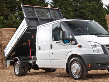 Transit Tipper Delivery Stoke - Newcastle under Lyme